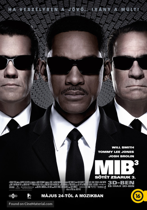 Men in Black 3 - Hungarian Movie Poster