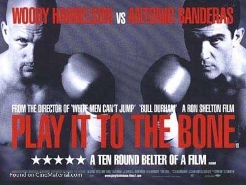 Play It To The Bone - British Movie Poster