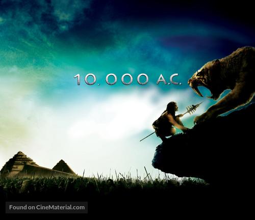 10 000 Bc 2008 Movie Poster