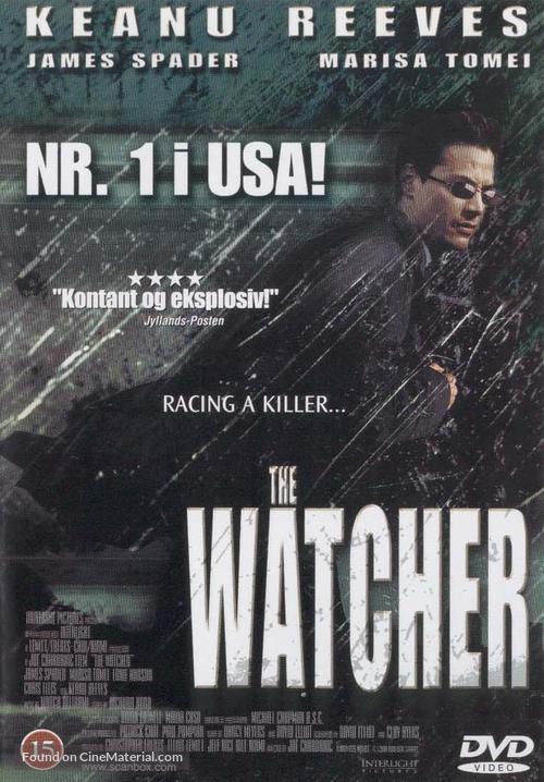 The Watcher - Danish DVD movie cover