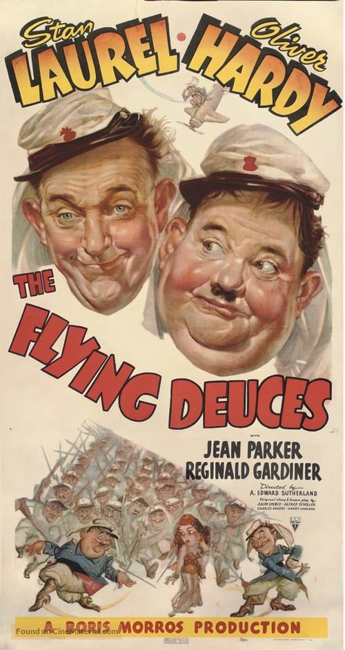 The Flying Deuces - Movie Poster