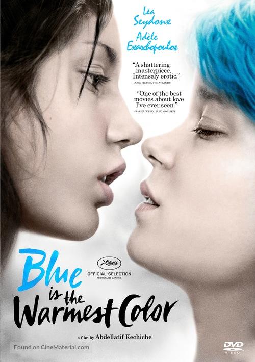 La vie d'Adèle - DVD movie cover