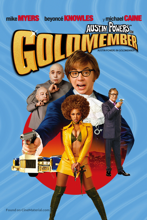 Austin Powers in Goldmember - Argentinian DVD movie cover