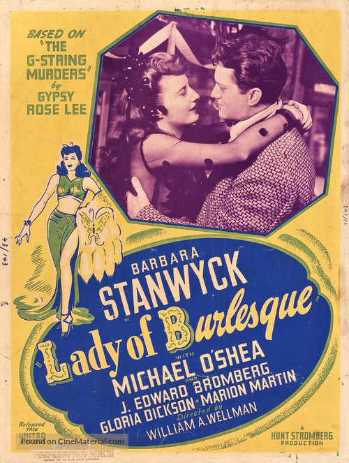 Image result for lady of burlesque 1943 posters