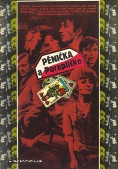 Penicka a Paraplícko - Czech Movie Poster