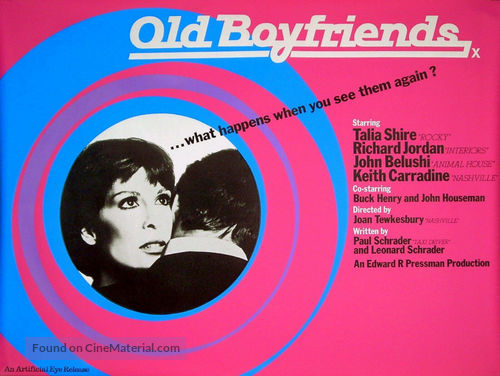 Old Boyfriends - British Movie Poster
