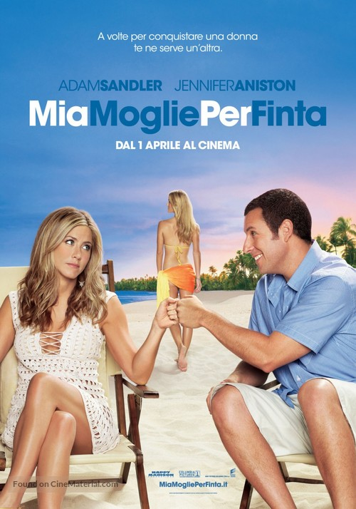 Just Go with It - Italian Movie Poster