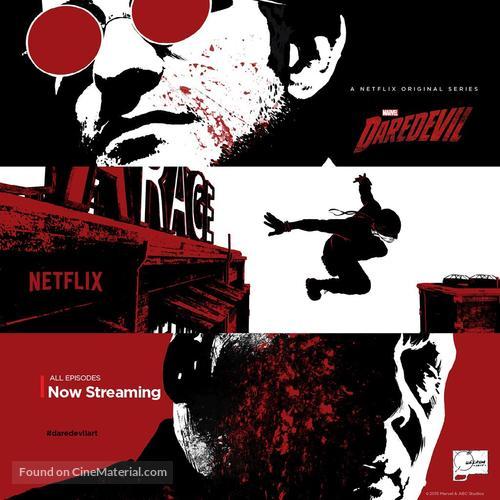 """""""Daredevil"""" - Movie Poster"""