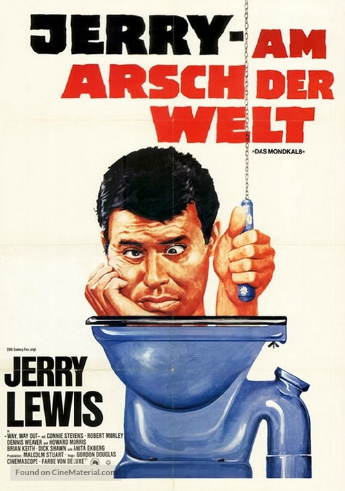 Way... Way Out - German Movie Poster