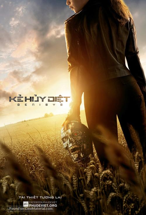 Terminator Genisys - Vietnamese Movie Poster