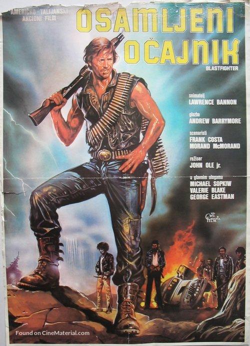 Blastfighter - Slovenian Movie Poster