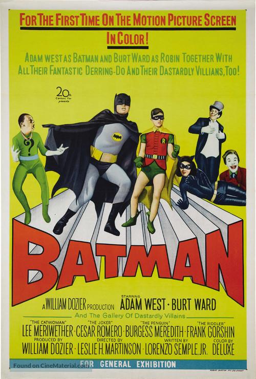 Batman - Australian Theatrical movie poster