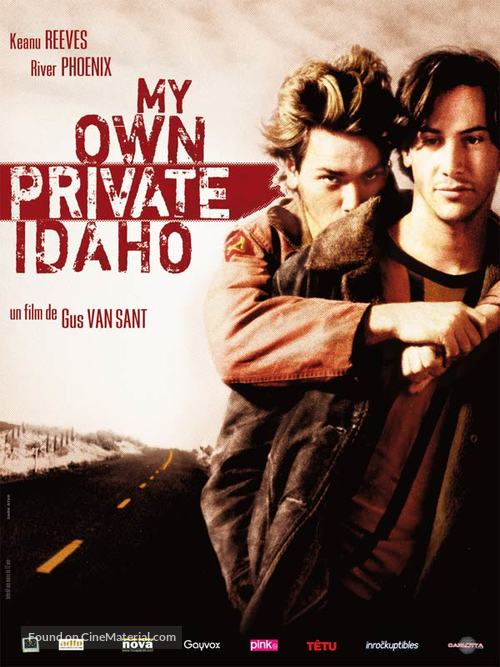 My Own Private Idaho - French Movie Poster