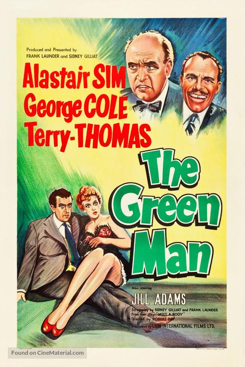The Green Man - British Movie Poster