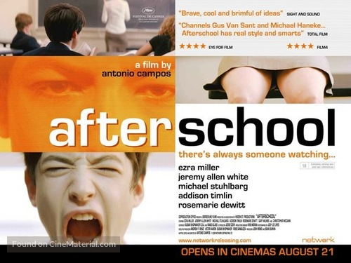 Afterschool - British Movie Poster