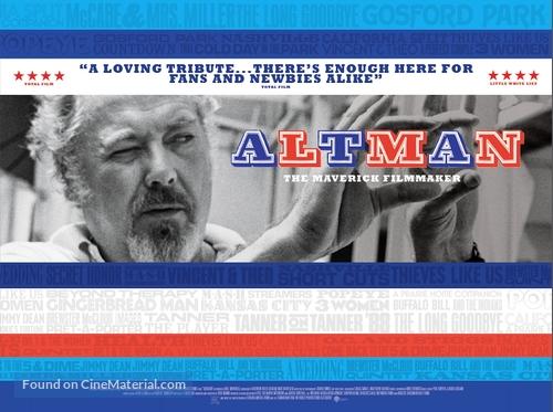 Altman - British Movie Poster