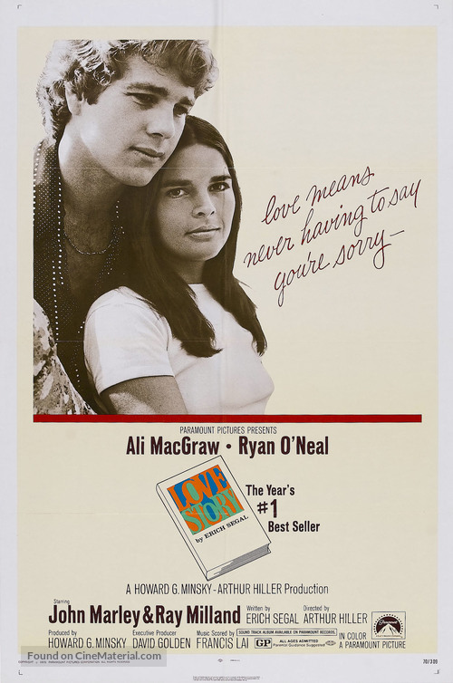 Love Story - Movie Poster