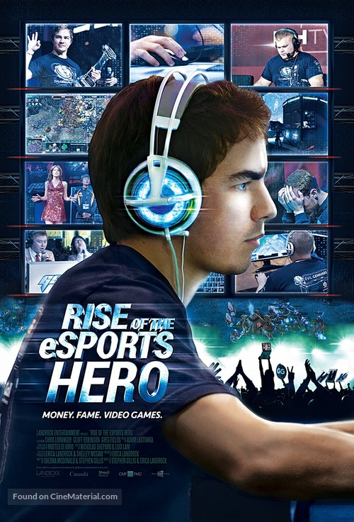 Rise of the eSports Hero - Canadian Movie Poster