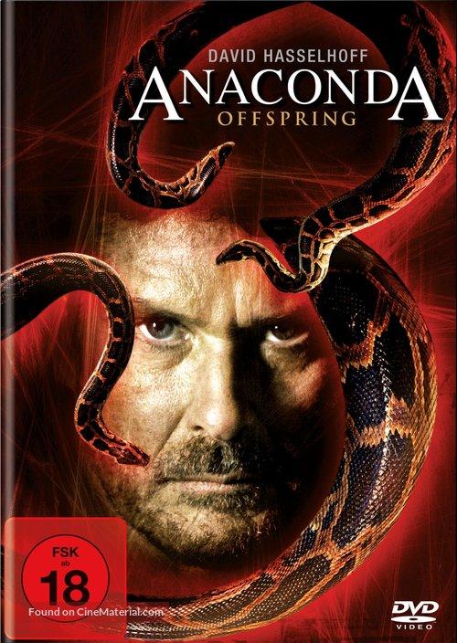Anaconda III - German DVD movie cover