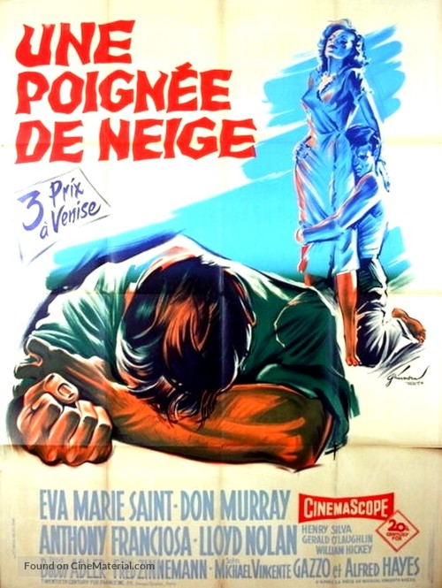 A Hatful of Rain - French Movie Poster
