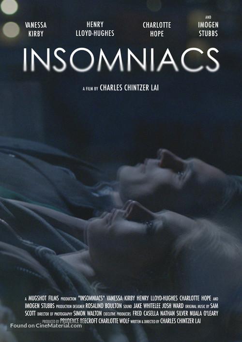 Insomniacs - British Movie Poster