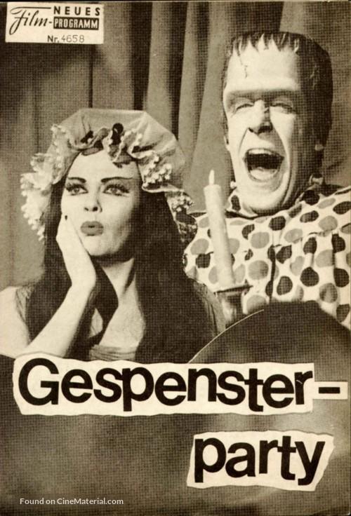 Munster, Go Home - Austrian poster