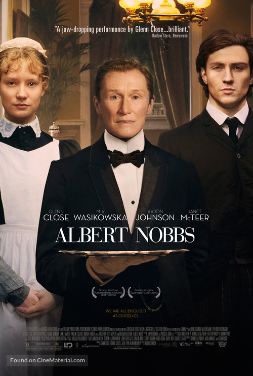 Albert Nobbs - Theatrical movie poster