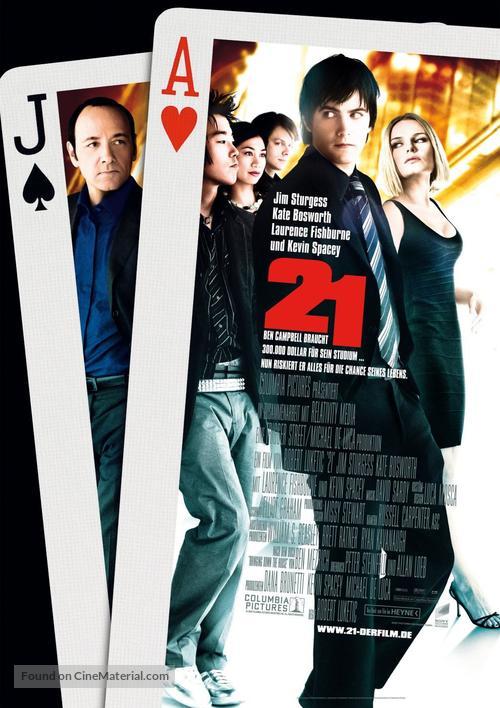21 - German Movie Poster