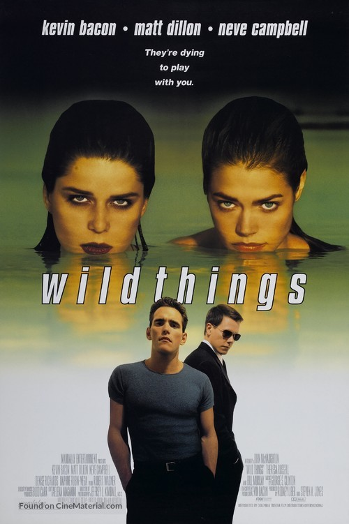 Wild Things - Movie Poster