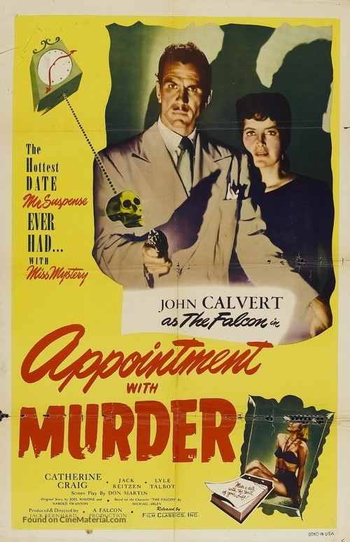 Appointment with Murder - Movie Poster