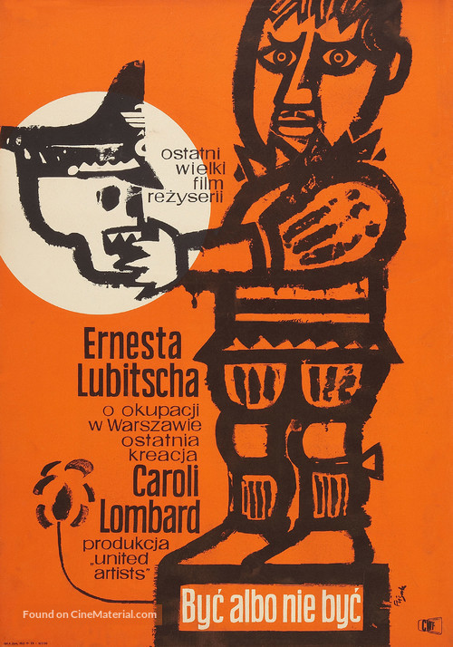 To Be or Not to Be - Polish Movie Poster