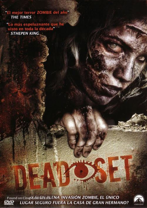 """""""Dead Set"""" - Brazilian DVD movie cover"""