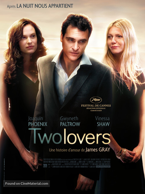 Two Lovers - French Movie Poster
