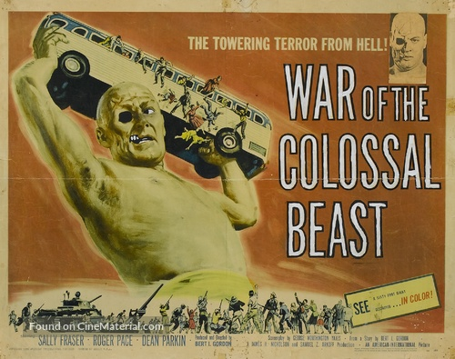 War of the Colossal Beast - Movie Poster