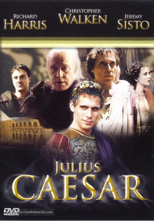 """Julius Caesar"" - Czech Movie Cover"