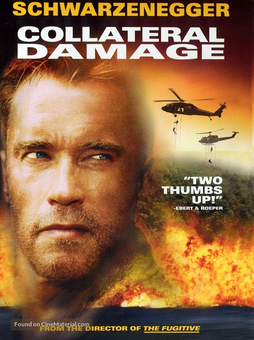 Collateral Damage - DVD movie cover