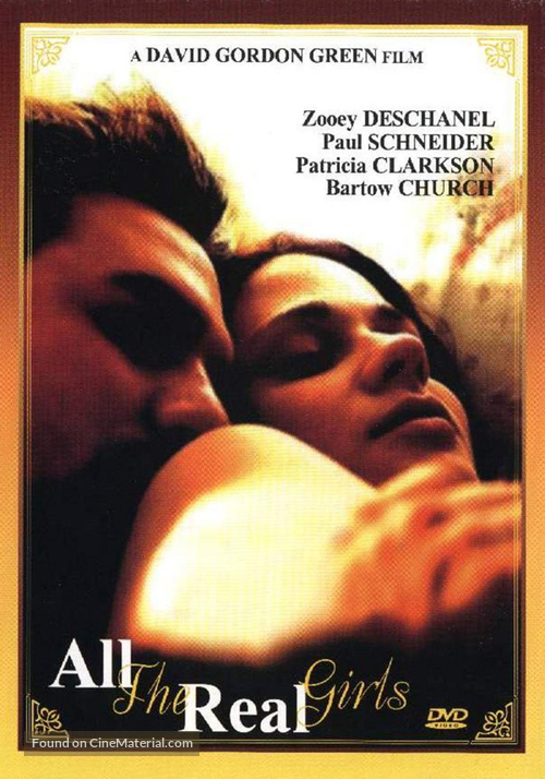 All the Real Girls - DVD movie cover
