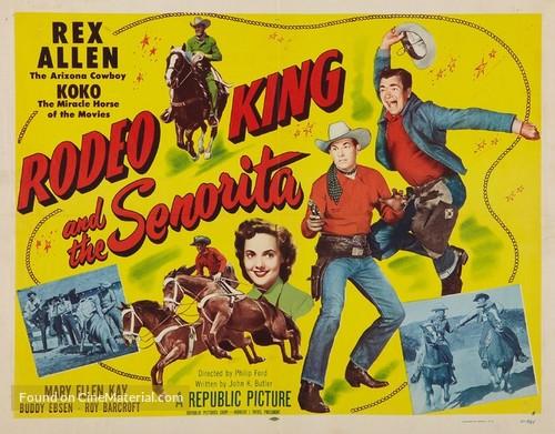 Rodeo King and the Senorita - Movie Poster