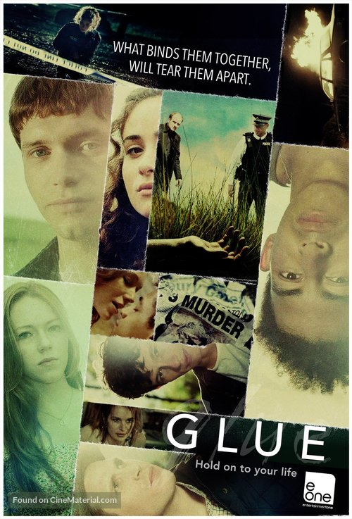 """Glue"" - DVD movie cover"
