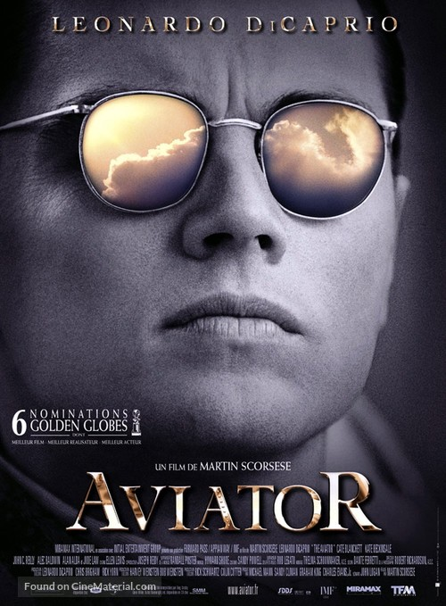 The Aviator - French Movie Poster