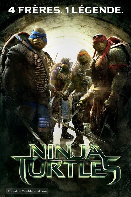 Teenage Mutant Ninja Turtles - French Movie Cover