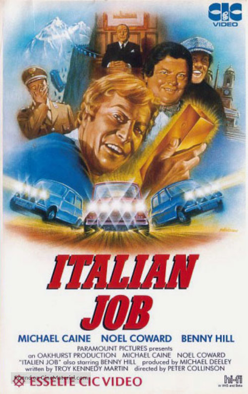 The Italian Job - Dutch Movie Cover