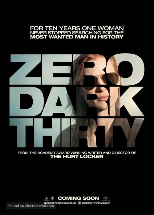 Zero Dark Thirty - British Movie Poster