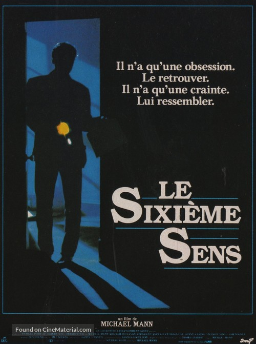 Manhunter - French Movie Poster