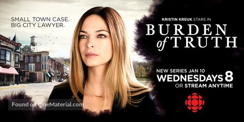 """""""Burden of Truth"""" - Canadian Movie Poster"""