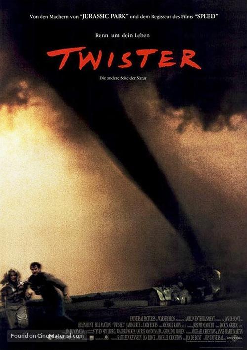 Twister - German Movie Poster