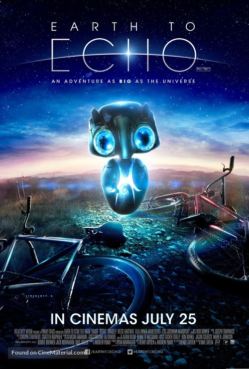 Earth to Echo - British Movie Poster