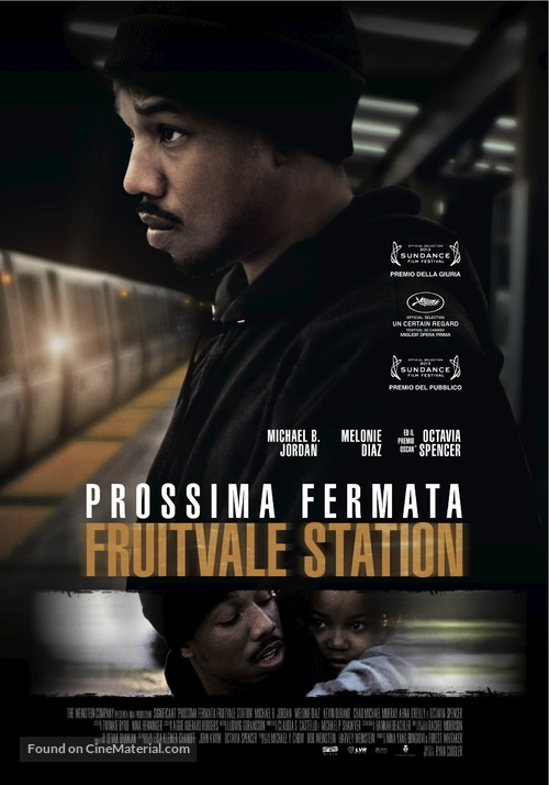 Fruitvale Station - Italian Movie Poster