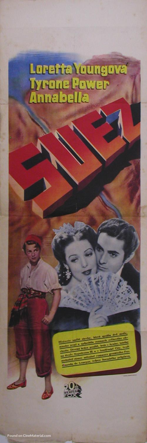 Suez - Czech Movie Poster