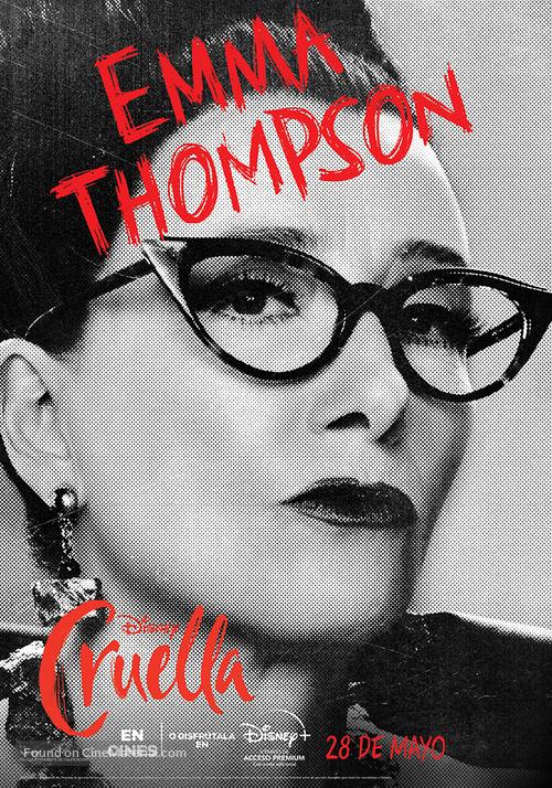 Cruella - Spanish Movie Poster